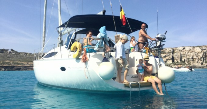 Location bateau Elan Elan 434 à Trapani sur Samboat