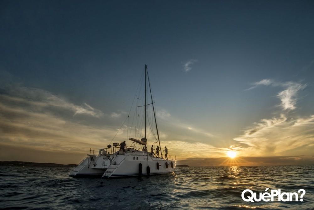 Location bateau Sant Antoni de Portmany pas cher Cat43