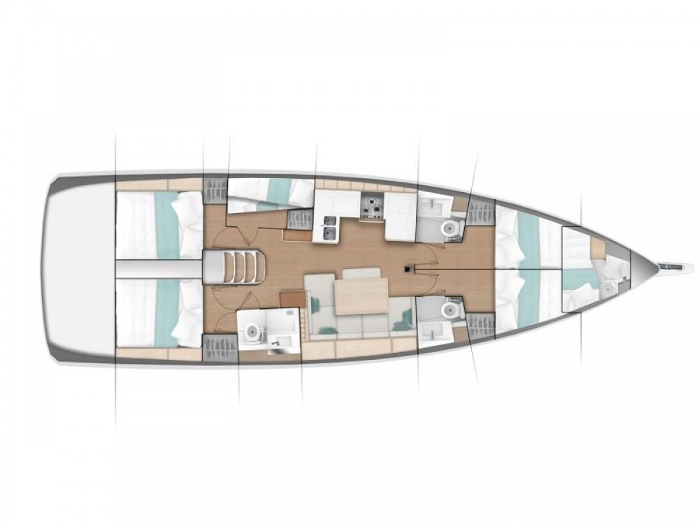 Louez un Jeanneau Sun Odyssey 490 à Capo d'Orlando Marina
