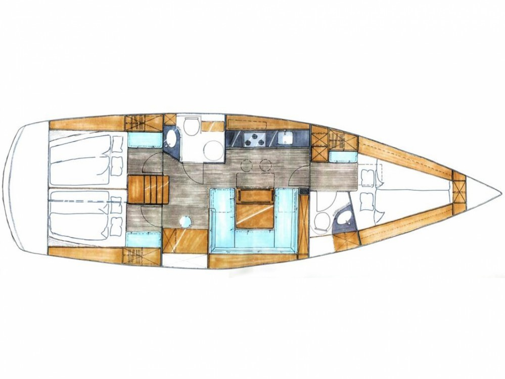 Rental Sailboat in Marina de Alimos - Bavaria Bavaria 43 Cruiser