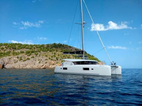Location bateau Lagoon Lagoon 42 à Sant Antoni de Portmany sur Samboat