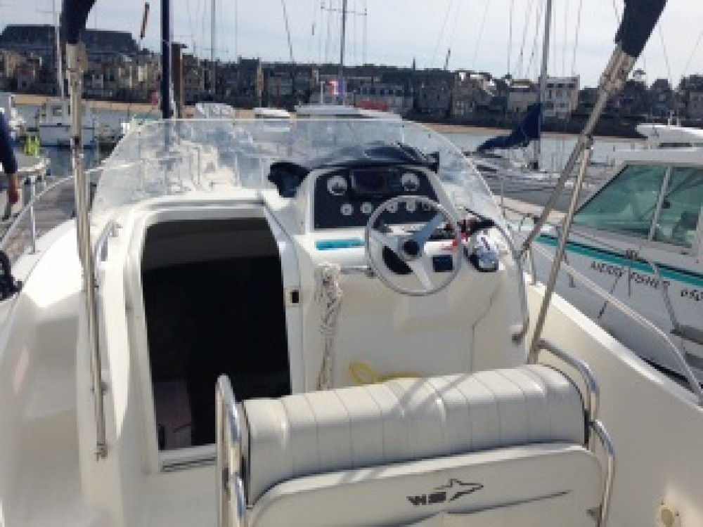 Motorboot mieten in Saint-Malo - White Shark White Shark 248