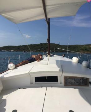 Location bateau Capeador Capeador 36 Solarium à Es Mercadal sur Samboat