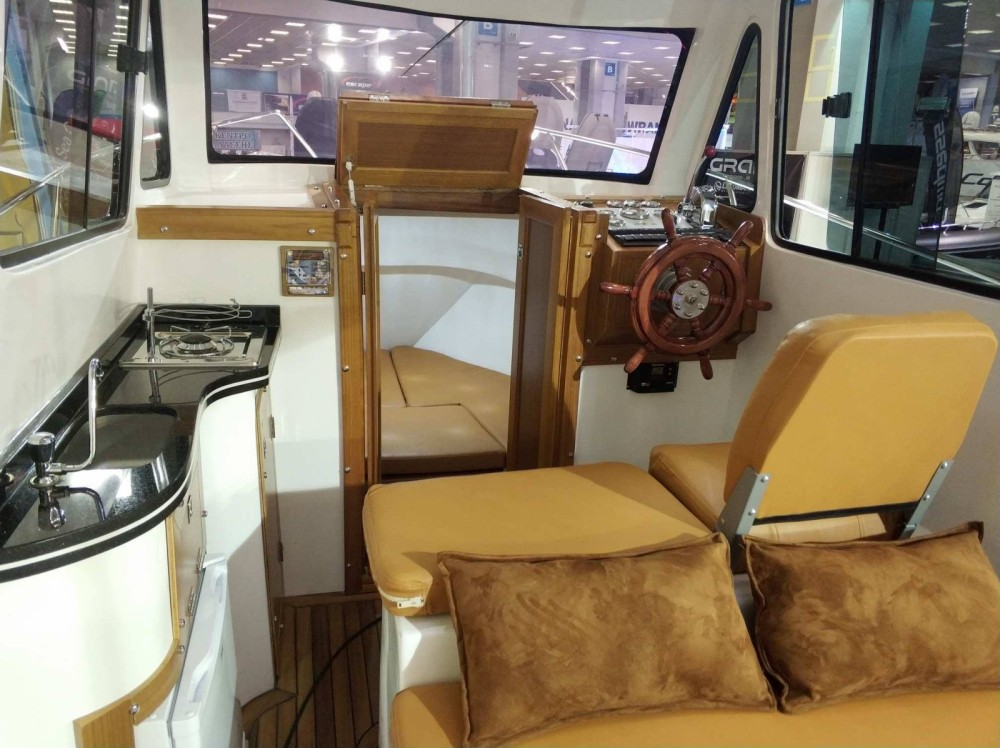 Hire Motor boat with or without skipper Kutlay Marine Keramoti