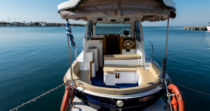 Rental Motor boat Kutlay Marine with a permit