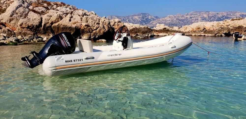Rental yacht Marseille - Zodiac Medline 500 on SamBoat