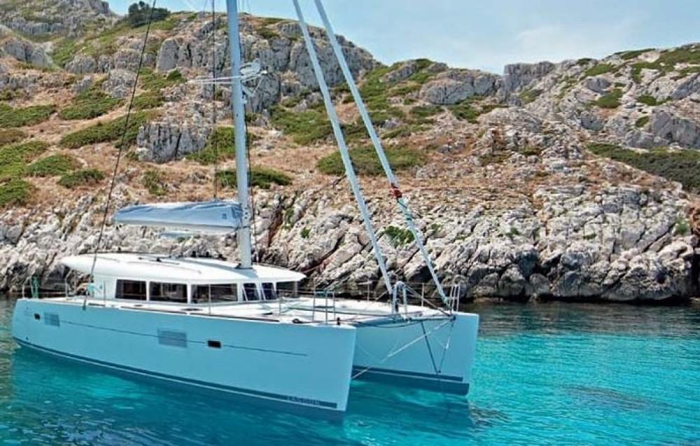 Alquiler de Catamarán, con o sin patrón Lagoon Calvi