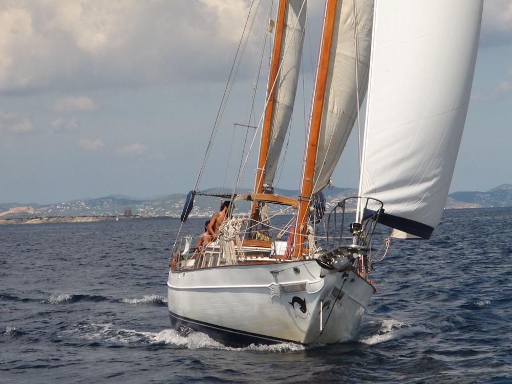 Boat rental Barcelona cheap Formosa 41