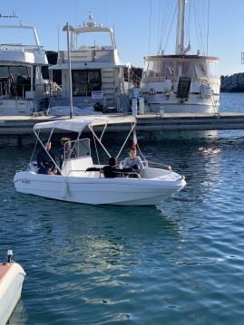 Location bateau Fréjus pas cher Saver Open 450