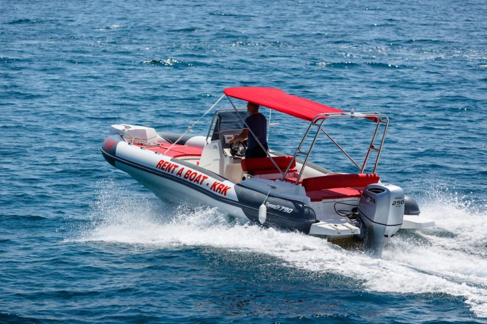 Boat rental Krk cheap Dynamic 790