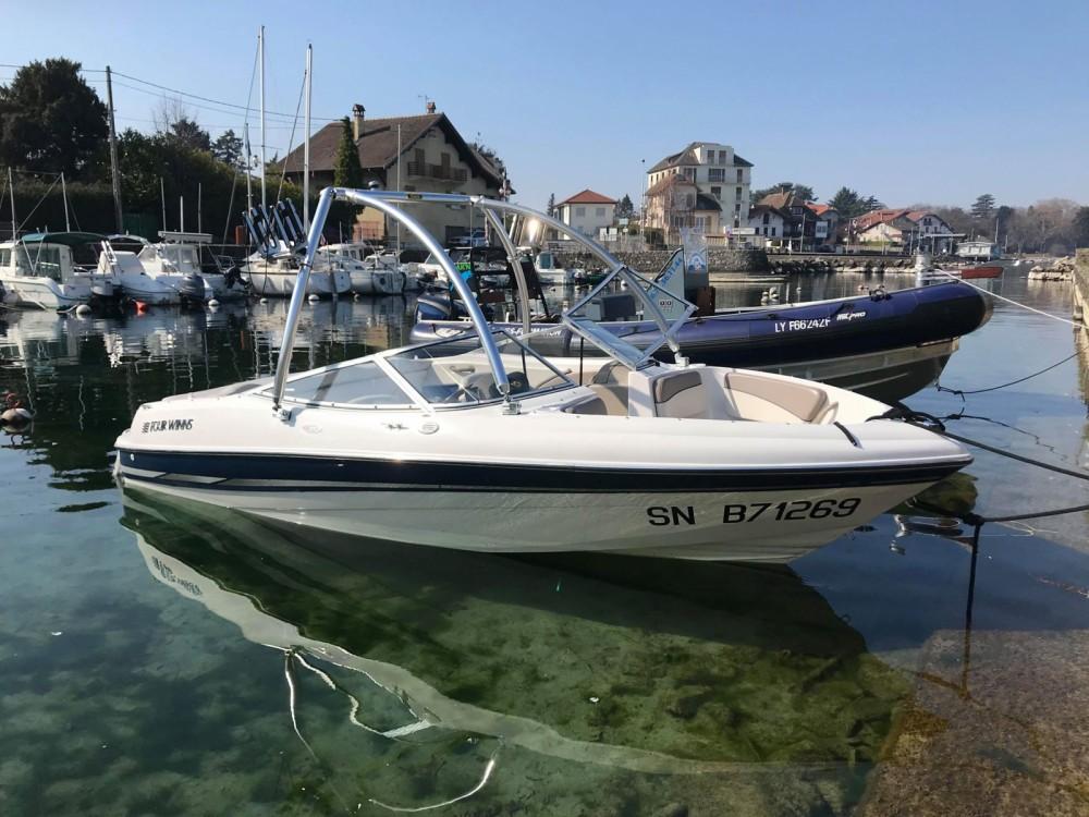 Location bateau Four Winns Horizon 180 à Thonon-les-Bains sur Samboat