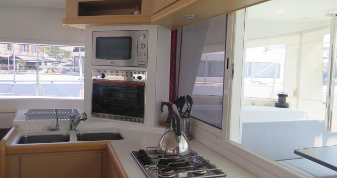 Location bateau Marseille pas cher Lagoon 400