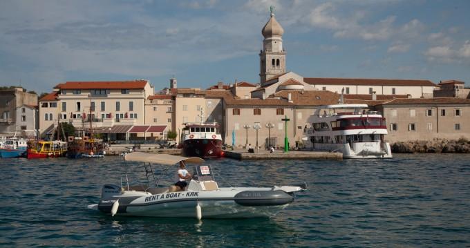 Rental RIB in Krk - Marlin Boat Dynamic 790