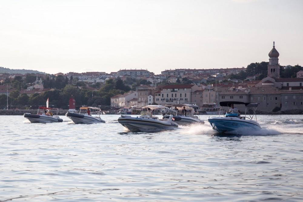Boat rental Rancraft RS5 in Krk on Samboat