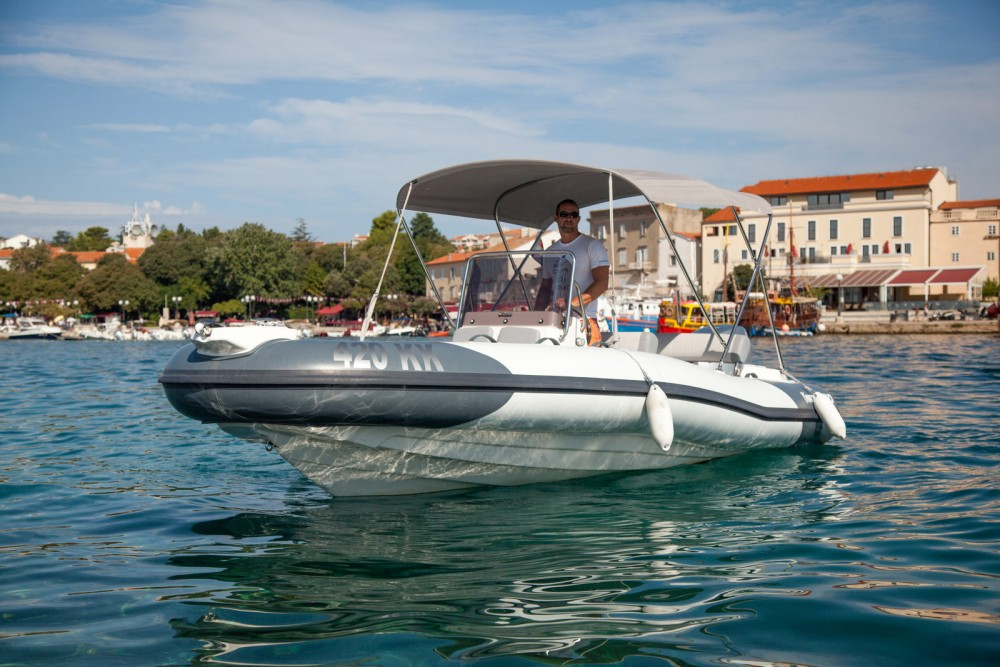 Marlin Boat Dynamic 630 between personal and professional Krk