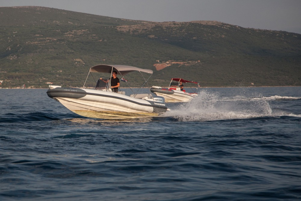 Hire RIB with or without skipper Marlin Boat Krk