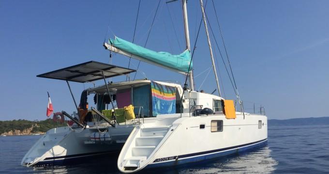 Location Catamaran Lagoon avec permis