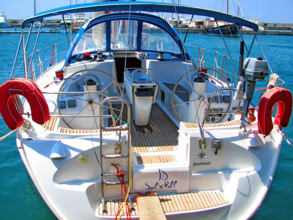 Jeanneau Sun Odyssey 43 entre particuliers et professionnel à Vatopedi