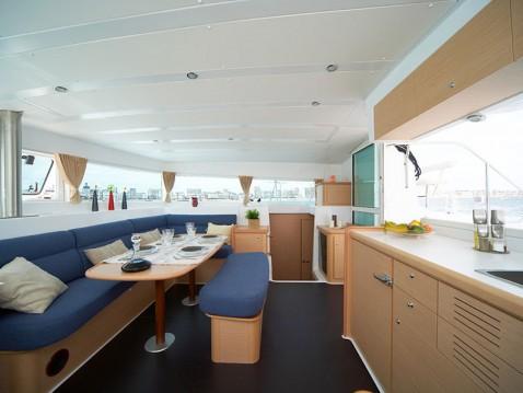 Location Catamaran à Vatopedi - Lagoon Lagoon 420