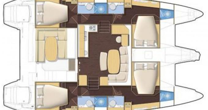 Louer Catamaran avec ou sans skipper Lagoon à Vatopedi