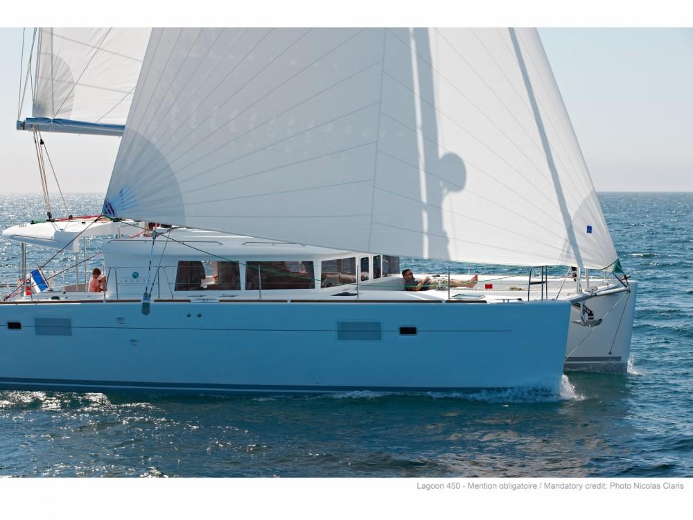 Location Catamaran à Ajaccio - Lagoon Lagoon 450F