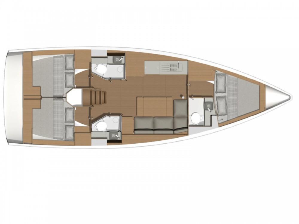 Boat rental Capo d'Orlando Marina cheap Dufour 390 Grand Large