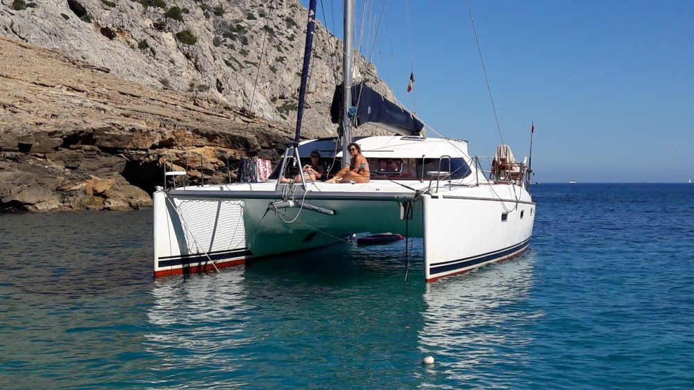 Nautitech Nautitech 40 zwischen Privatpersonen und professionellem Anbieter Korfu