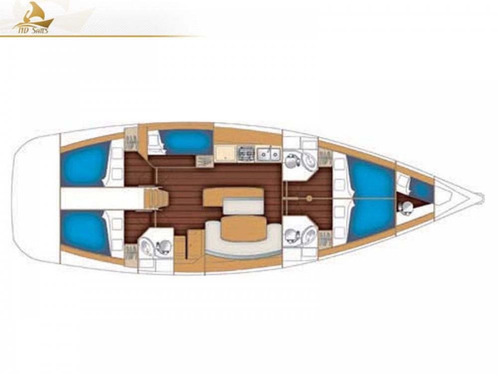 Location yacht à Laurion - Bénéteau Oceanis 50 Family sur SamBoat