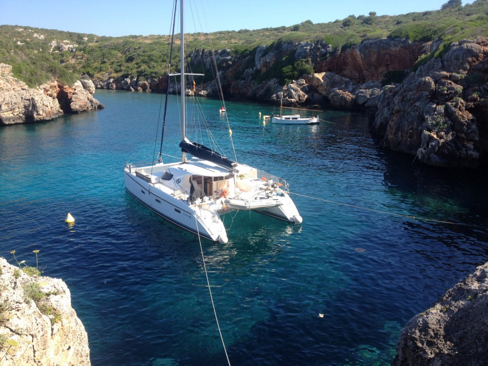 Ein Nautitech Nautitech 40 mieten in Korfu