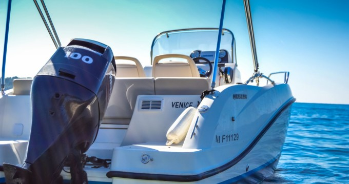 Rental Motor boat in Mandelieu-la-Napoule - Quicksilver Activ 555 Open