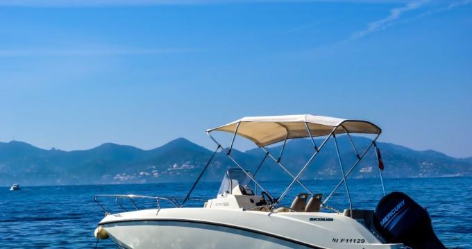 Boat rental Mandelieu-la-Napoule cheap Activ 555 Open