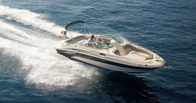 Barca a motore a noleggio Mandelieu-la-Napoule al miglior prezzo
