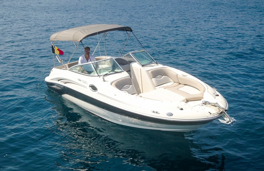 Hire Motor boat with or without skipper Sea Ray Mandelieu-la-Napoule