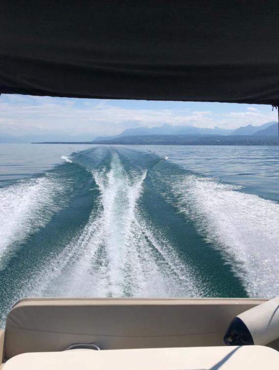 Verhuur Motorboot in Cologny - Quicksilver Activ 855 Weekend