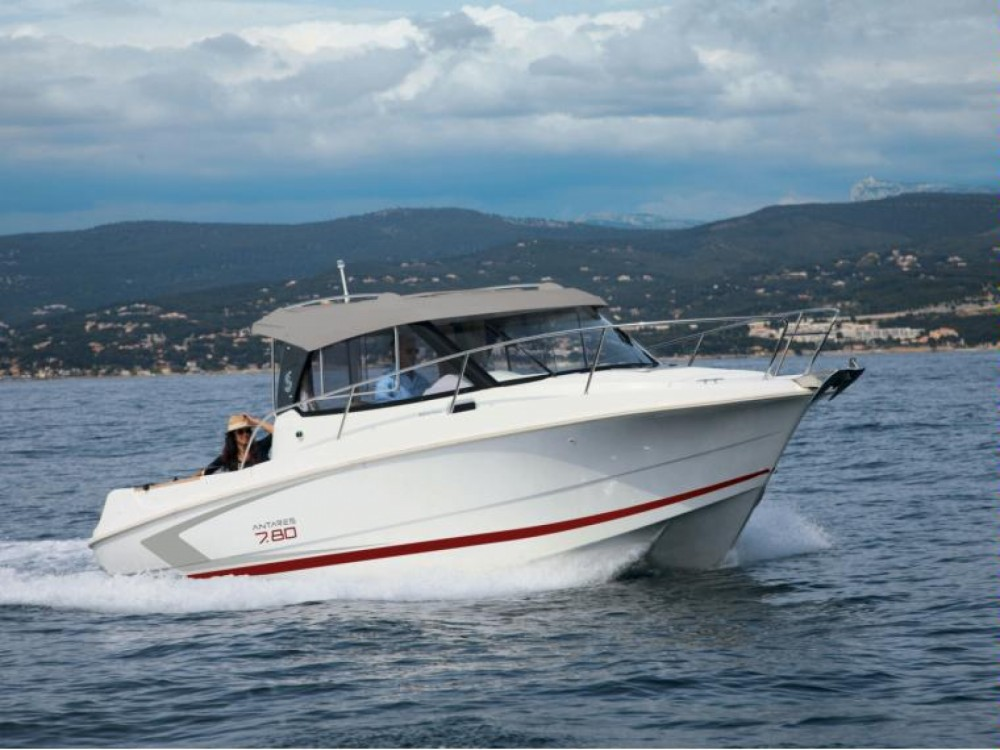 Boat rental Alacant / Alicante cheap Antares 7.80
