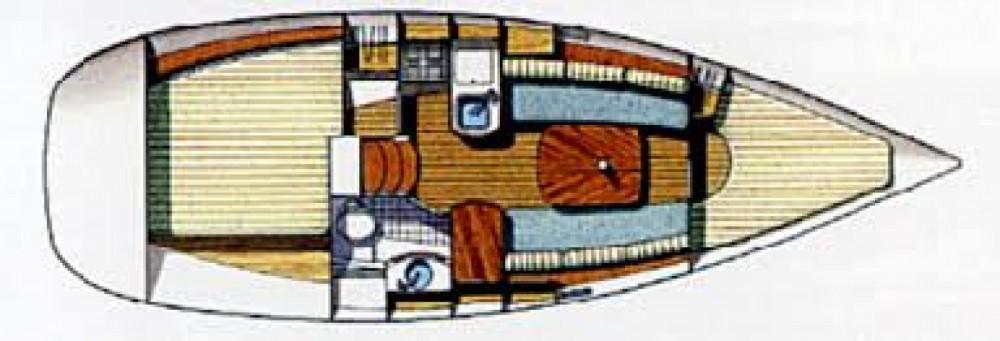 Bénéteau Oceanis 311 Clipper entre particuliers et professionnel à Piriac-sur-Mer