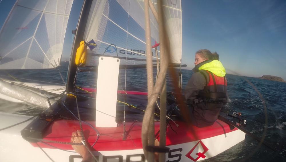 Catamaran-F16 Cirrus Q entre particuliers et professionnel à Saint-Malo