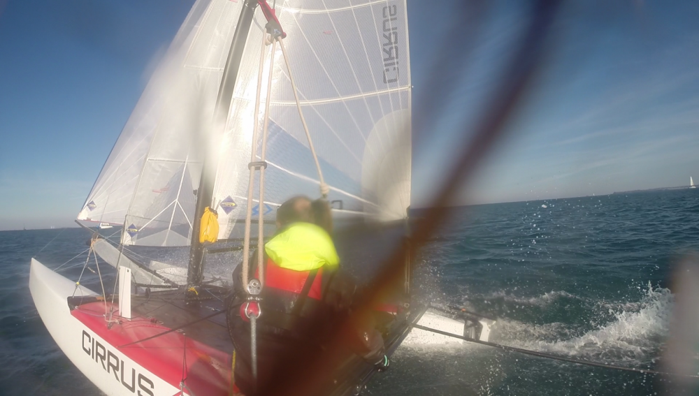 Louer Catamaran avec ou sans skipper Catamaran-F16 à Saint-Malo