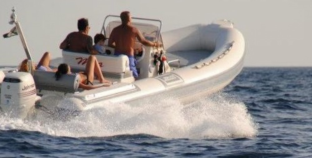 RIB for rent Salerno at the best price