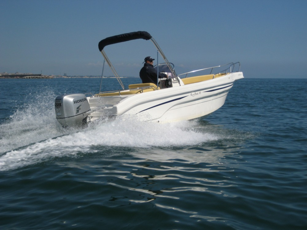 Rental Motor boat Resin Park 23 with a permit
