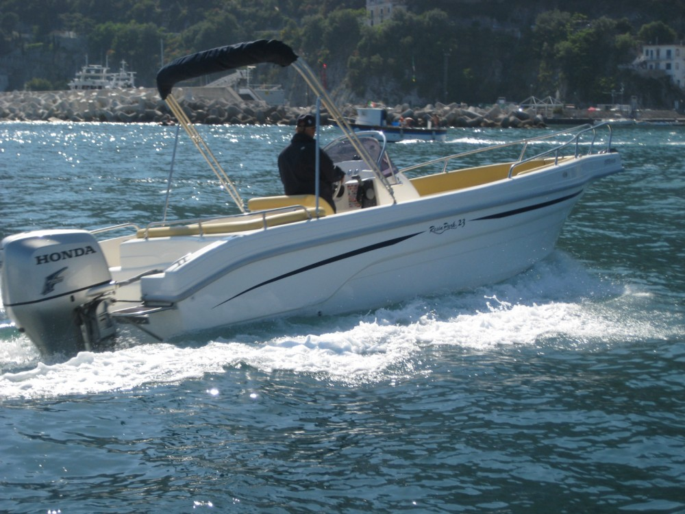 Hire Motor boat with or without skipper Resin Park 23 Salerno