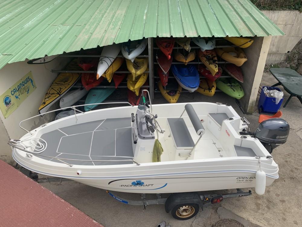 Location bateau Marseille pas cher Pacific Craft 500
