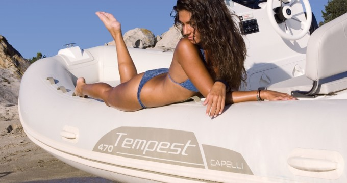 Location Semi-rigide à Île d'Ibiza - Capelli Tempest 470