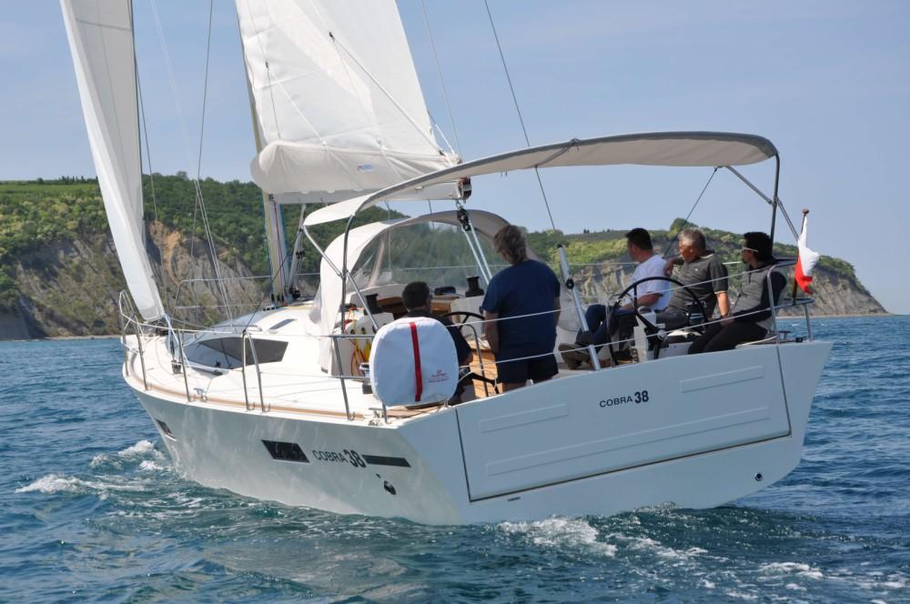Vermietung Segelboot Cobra mit Führerschein