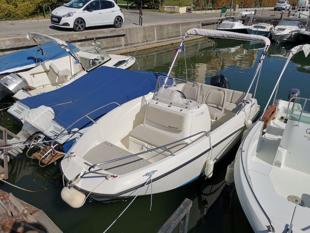 Hire Motor boat with or without skipper Quicksilver Mandelieu-la-Napoule