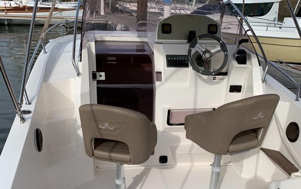 Louer Bateau à moteur avec ou sans skipper Pacific Craft à Arcachon