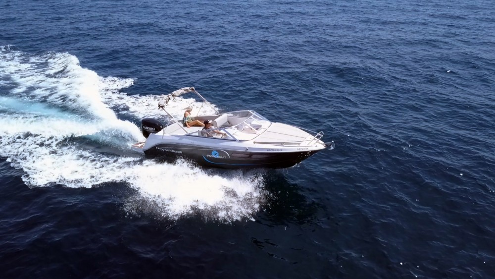 Rent Pacific Craft 700 Day Cruiser with or without skipper in IBIZA