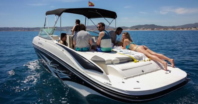 Louer Bateau à moteur avec ou sans skipper Rinker à Sant Antoni de Portmany