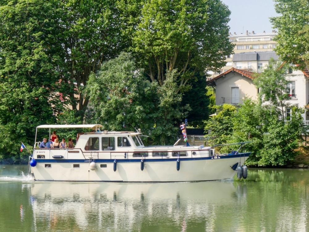 Alquiler Casa flotante Brabant con título de navegación