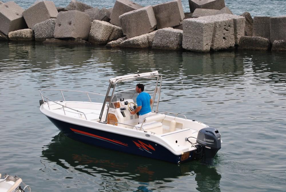 Rent a Terminal Boat Terminal Boat 21 Salerno